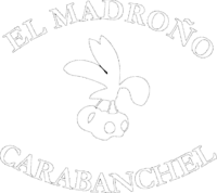Bar Terraza El Madroño - logo blanco